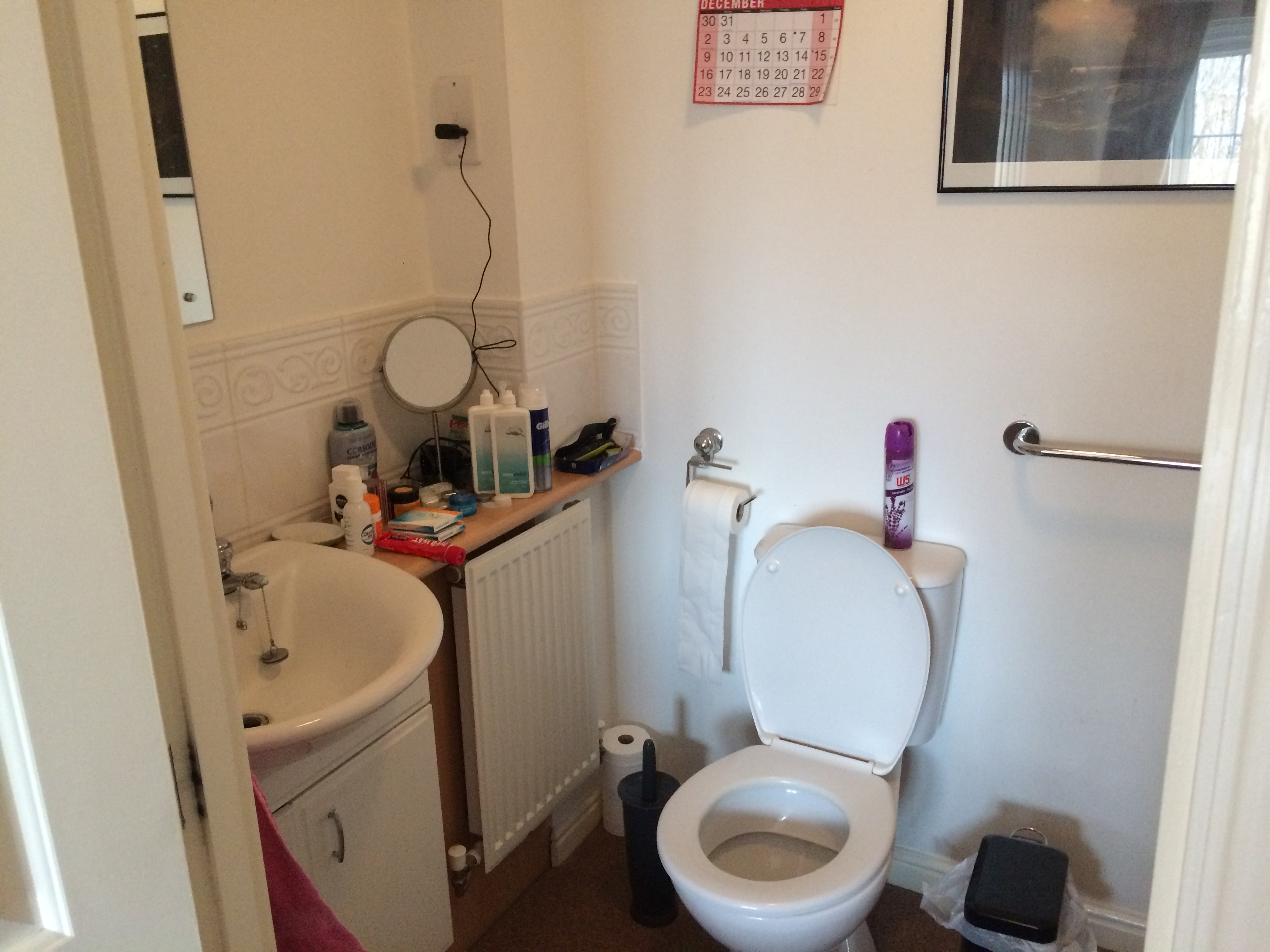After photo en suite bathroom