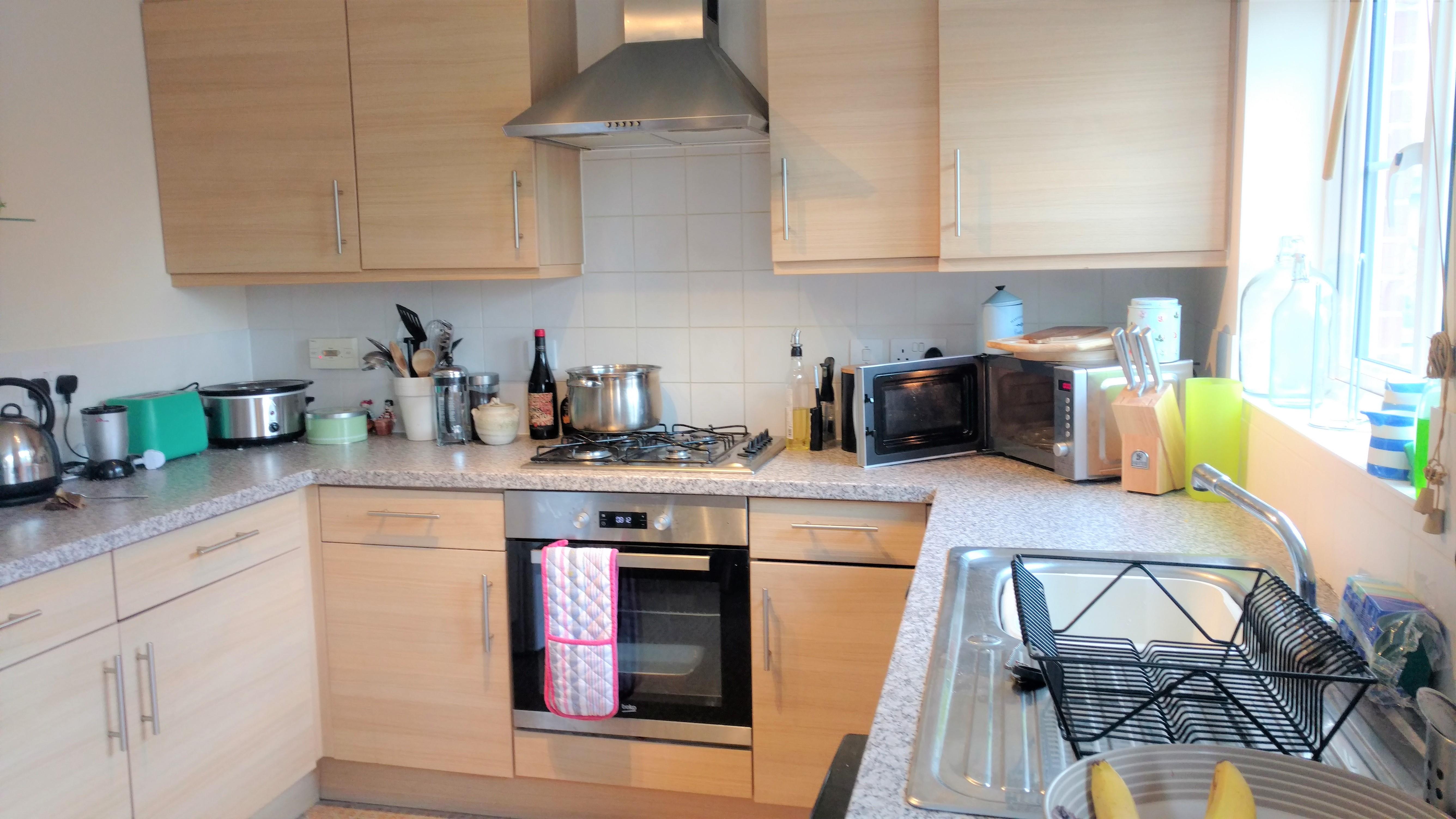 Before photo entire kitchen