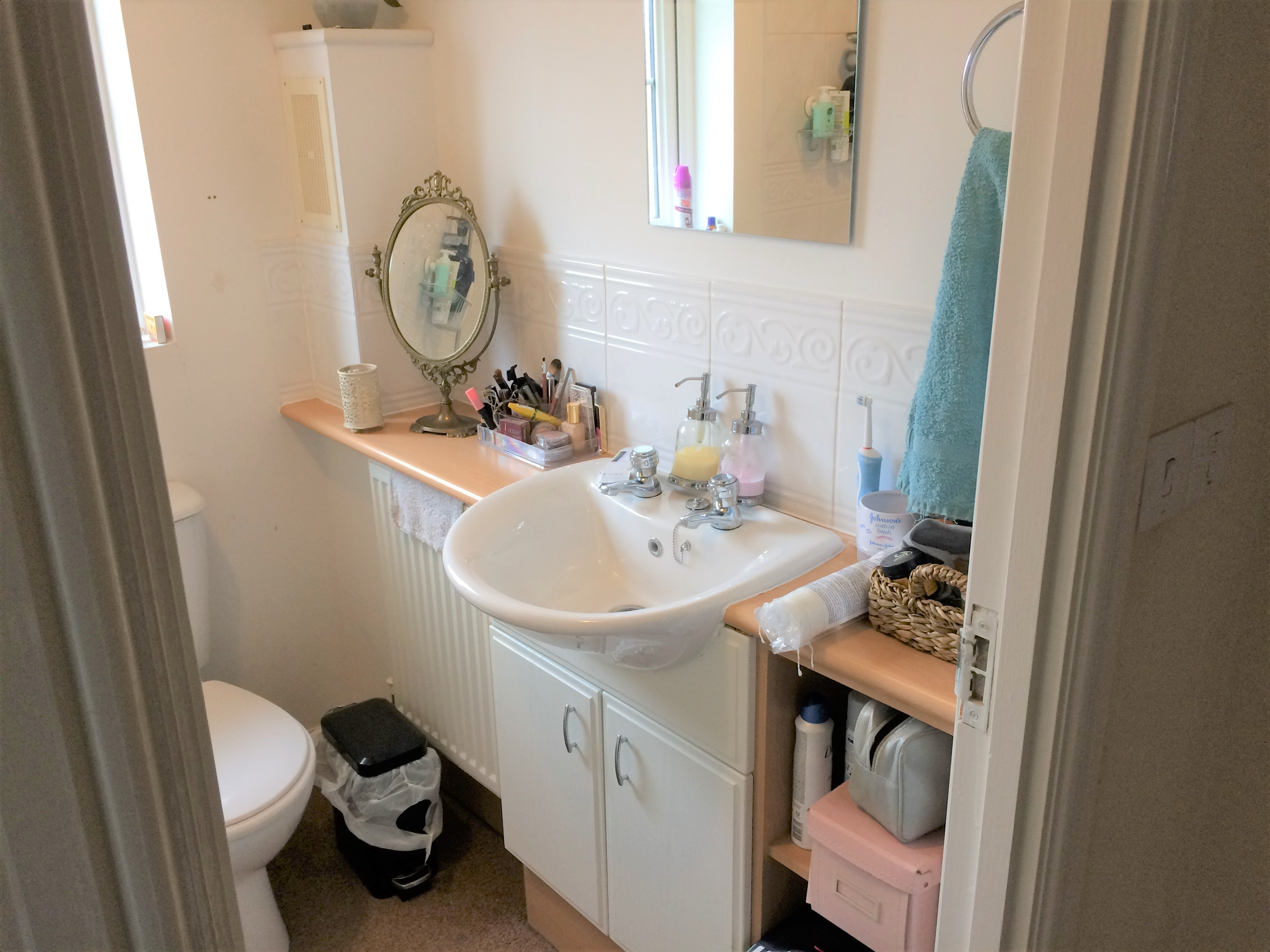 After photo guest bathroom